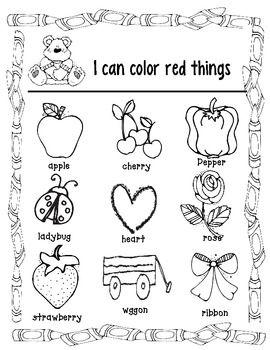 Color Identification Coloring Pages Coloring Pages Color