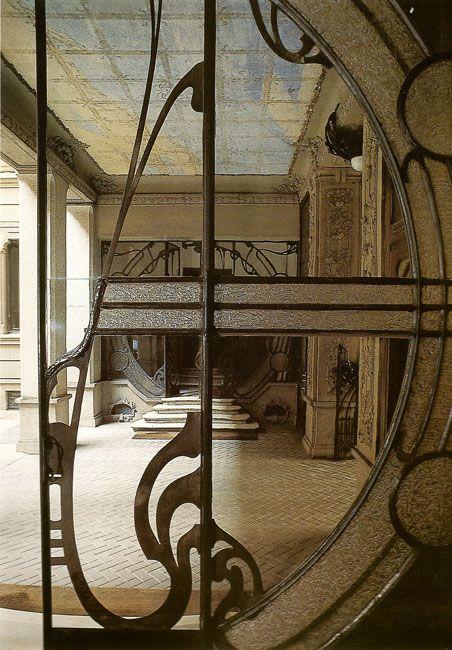 ferro battuto liberty Mazzucotelli Milano | ARCHITECTURE | Pinterest ...