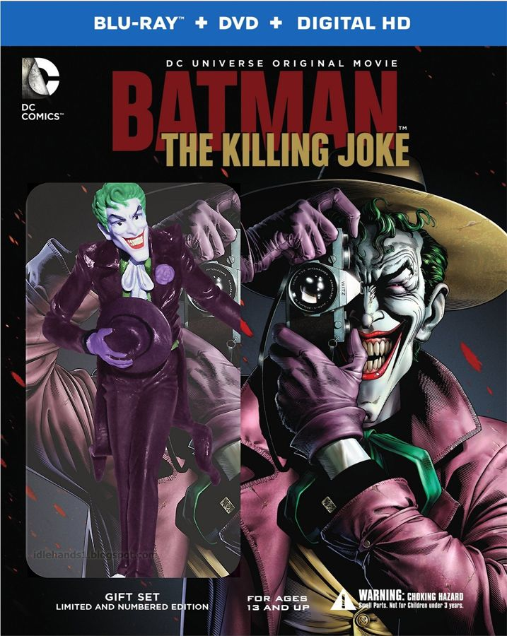 1e0d22fe3157 Idle Hands  Batman  The Killing Joke Full Blu-ray   DVD Details ...
