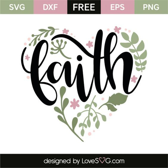 Download Faith | Cricut svg, Cricut, Faith svg