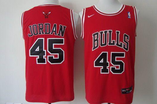 sale retailer b7dbf 487c7 Chicago Bulls #45 Michael Jordan Revolution 30 Swingman Red ...