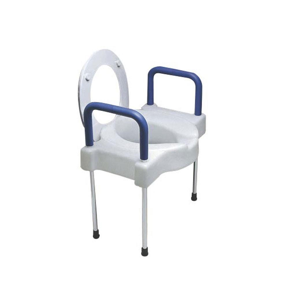 Elevated Toilet Seat With Legs 1 Handicap Accessories Toilet