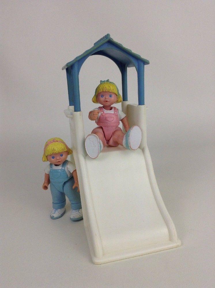 Vintage 93 94 Fisher Price Loving Family Dream Dollhouse Toys