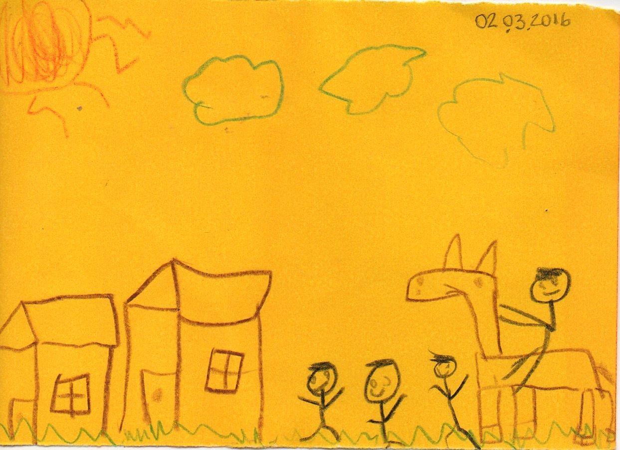 sem nome> (10,8 x 7,6 cm) por Matheus Rocha Machado (6 anos) em 02 ...