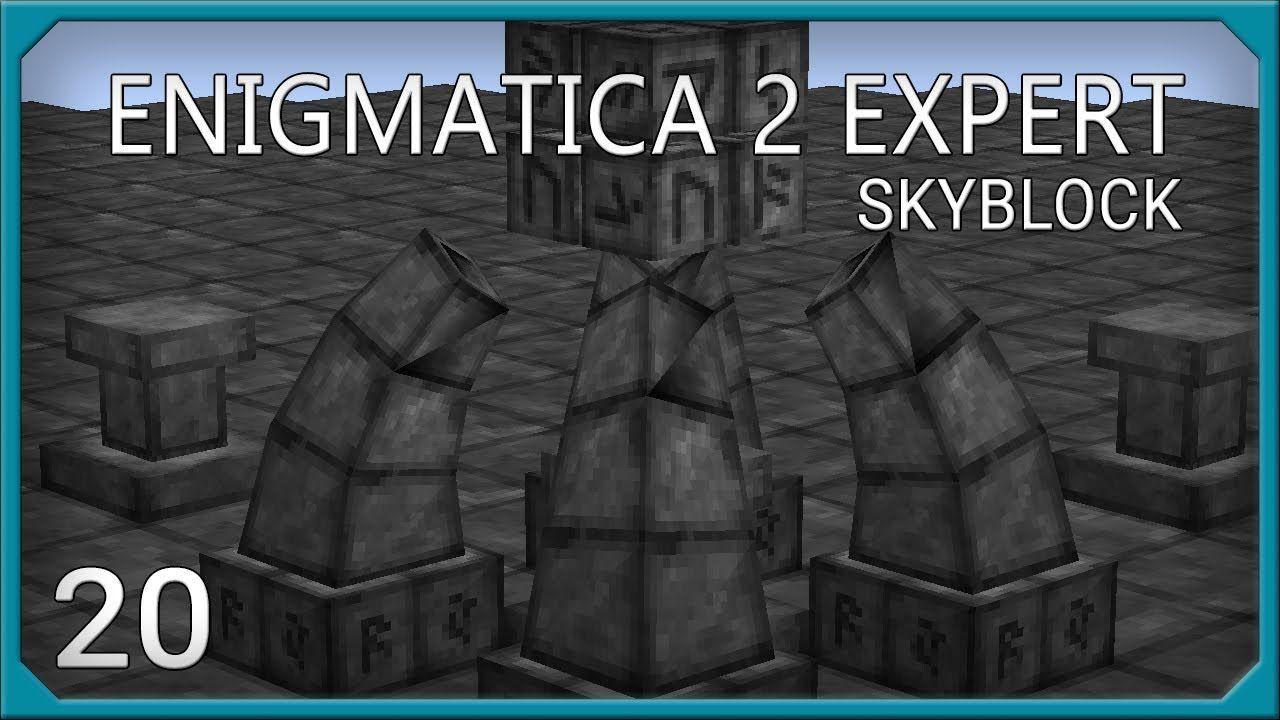 Enigmatica 2 Expert EP20 Infusion Altar Celestial Altar