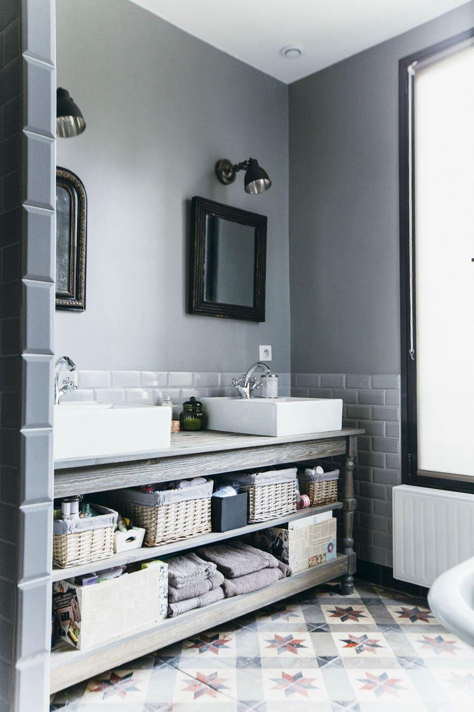 Salle De Bain Bleu Et Bois ~ bois colombes c picture gallery bathroom love pinterest