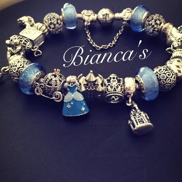 Shareig My Pandora Cinderella Bracelet Is Completed
