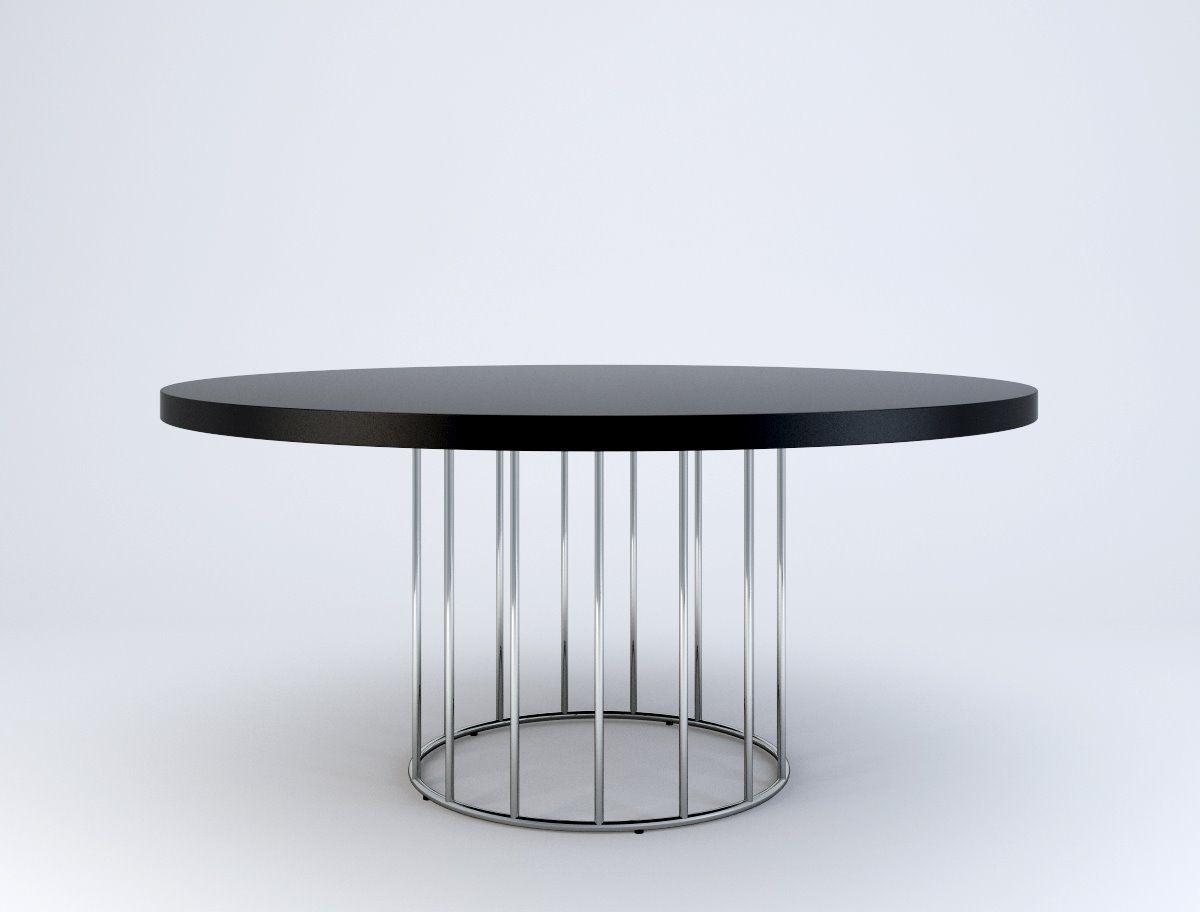 Minotti Caulfield Table Rodolfo Dordoni Round Dining Table Dining Table Coffe Table [ 912 x 1200 Pixel ]
