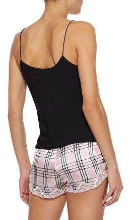 Morgan Lane Josephine Checked Silk-satin Pajama Pants #Sponsored , #Sponsored, #Josephine#Checked#Morgan