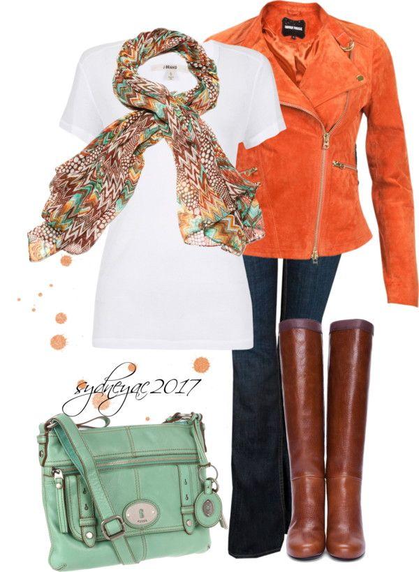 orange for fall..