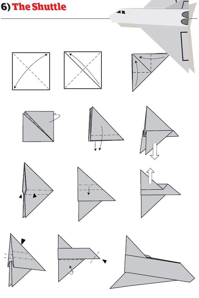 12 Tutos Pour Construire Les Meilleurs Avions En Papier