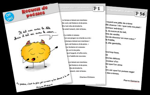 Recueil De Poesies Pour Le Cycle 3 Recueil De Poesie Poesie Cycle 3 Poesie Ecole