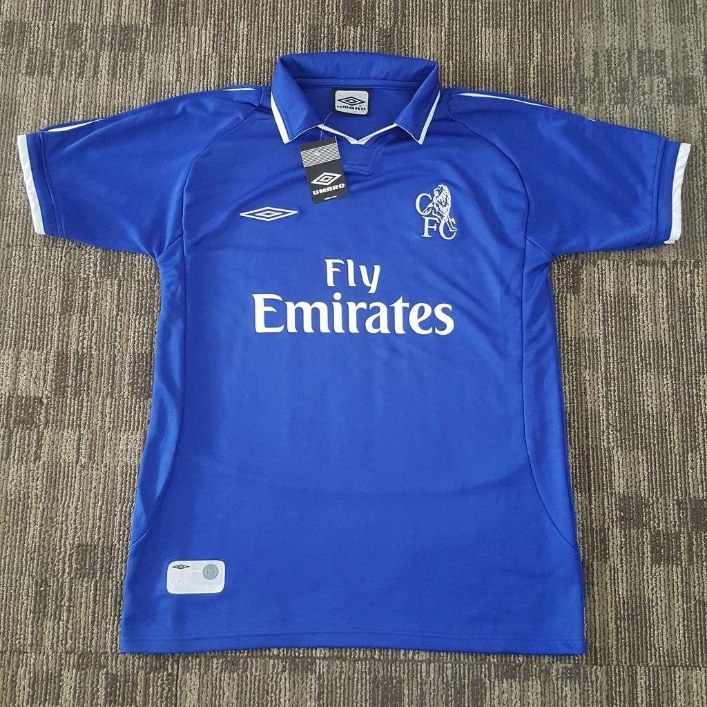 Umbro Chelsea 2004-2005 Away Jersey Short Sleeve Youth