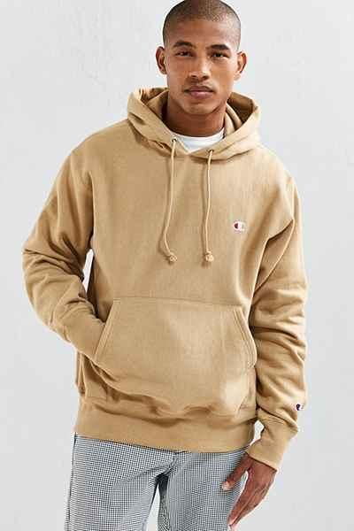 Hoodie Champion On Sweatshirt In Reverse Scott Taupe Weave Seen As SMLzVGqUp