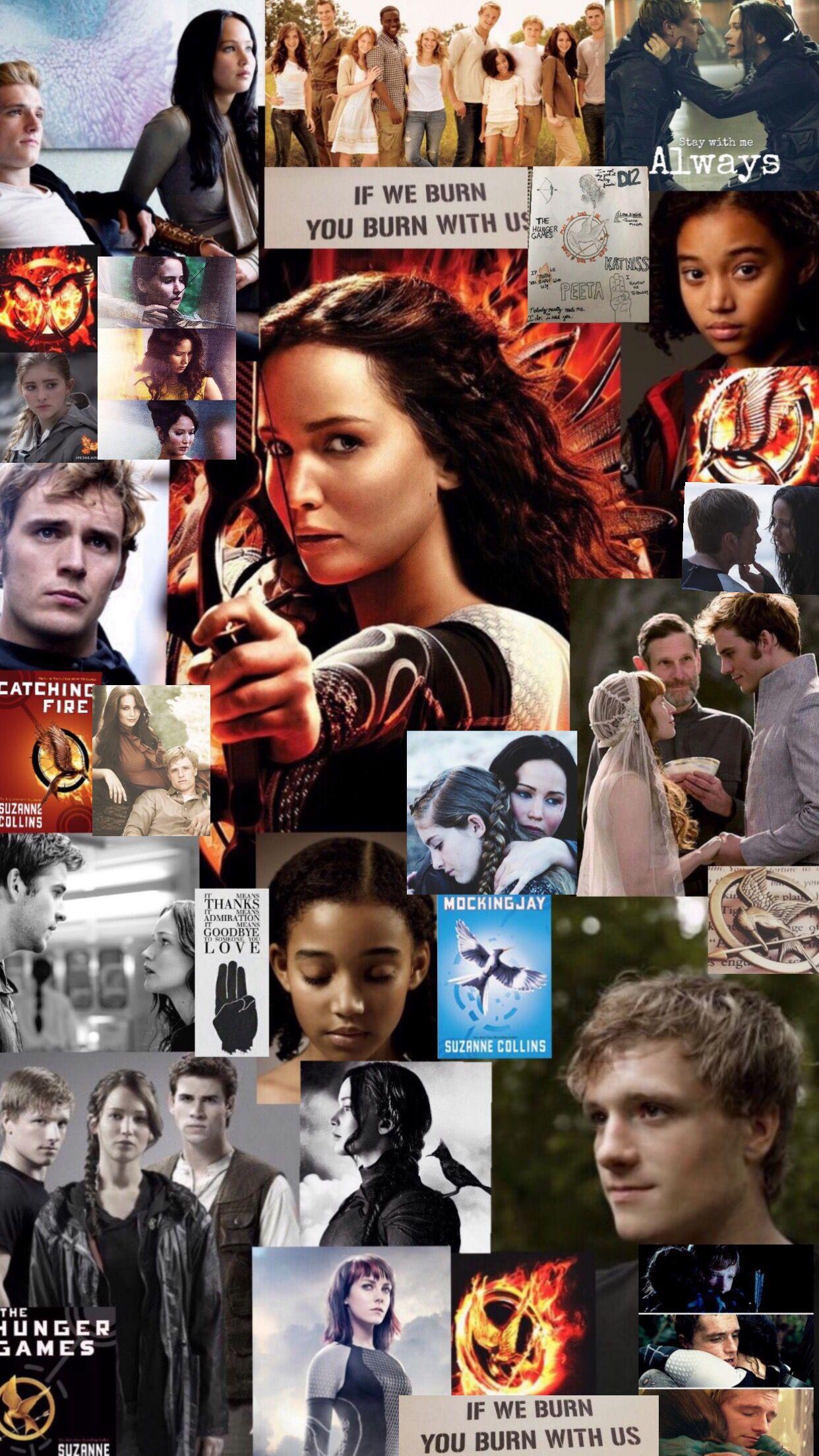 Hunger Games Collage Wallpaper Hunger Games Wallpaper Hunger Games Hunger Games Quotes