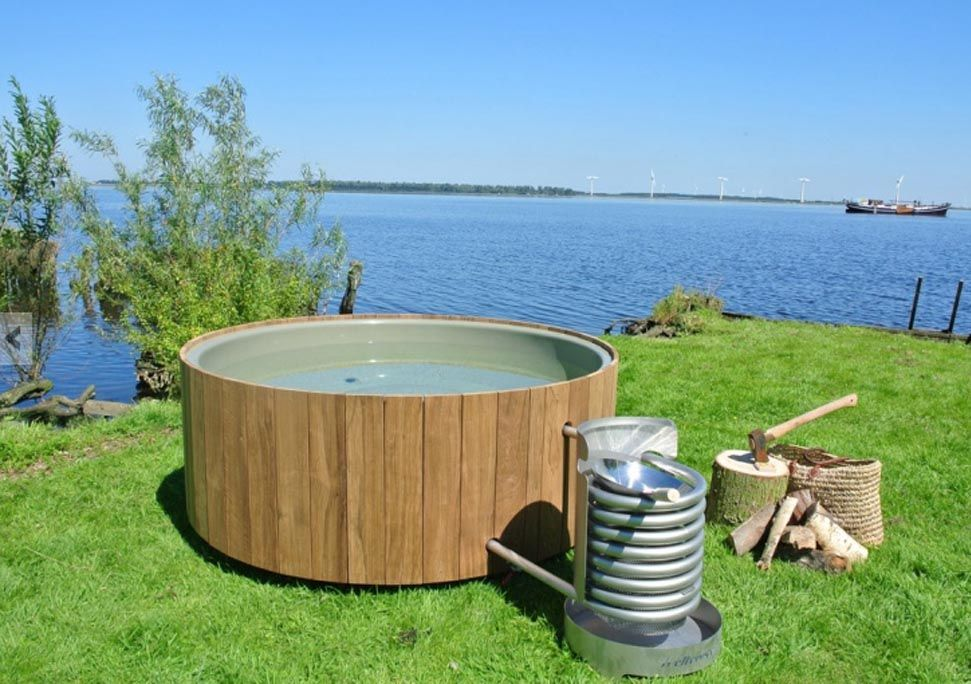 This hot tub uses science to power the circulation and