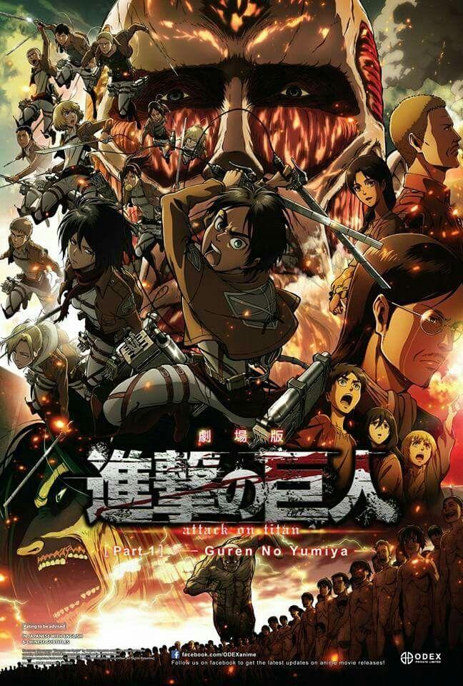 Attack on Titan movie 1 Attack on titan season, Attack