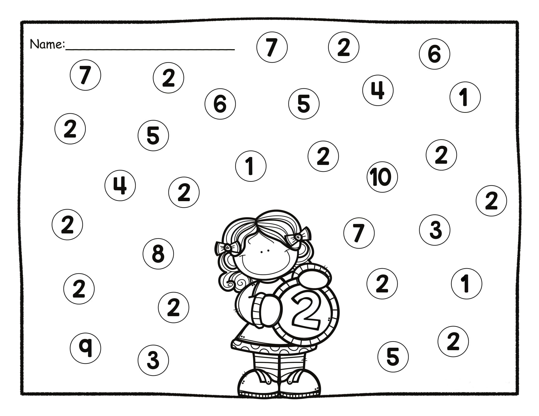 Okul Oncesi Boyama Sayfasi Etkinligi Temel Matematik Matematik