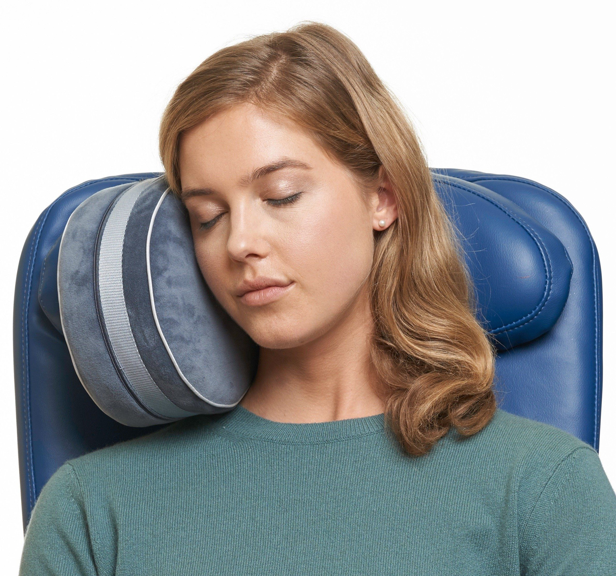and air support airplane pillows neck compact pin trekology pillow travel for head ultralight