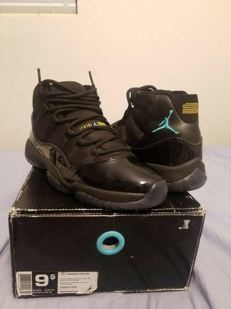 jordan 11 gamma blue size 9.5  fashion  clothing  shoes  accessories   mensshoes  athleticshoes (ebay link) ad440de1c