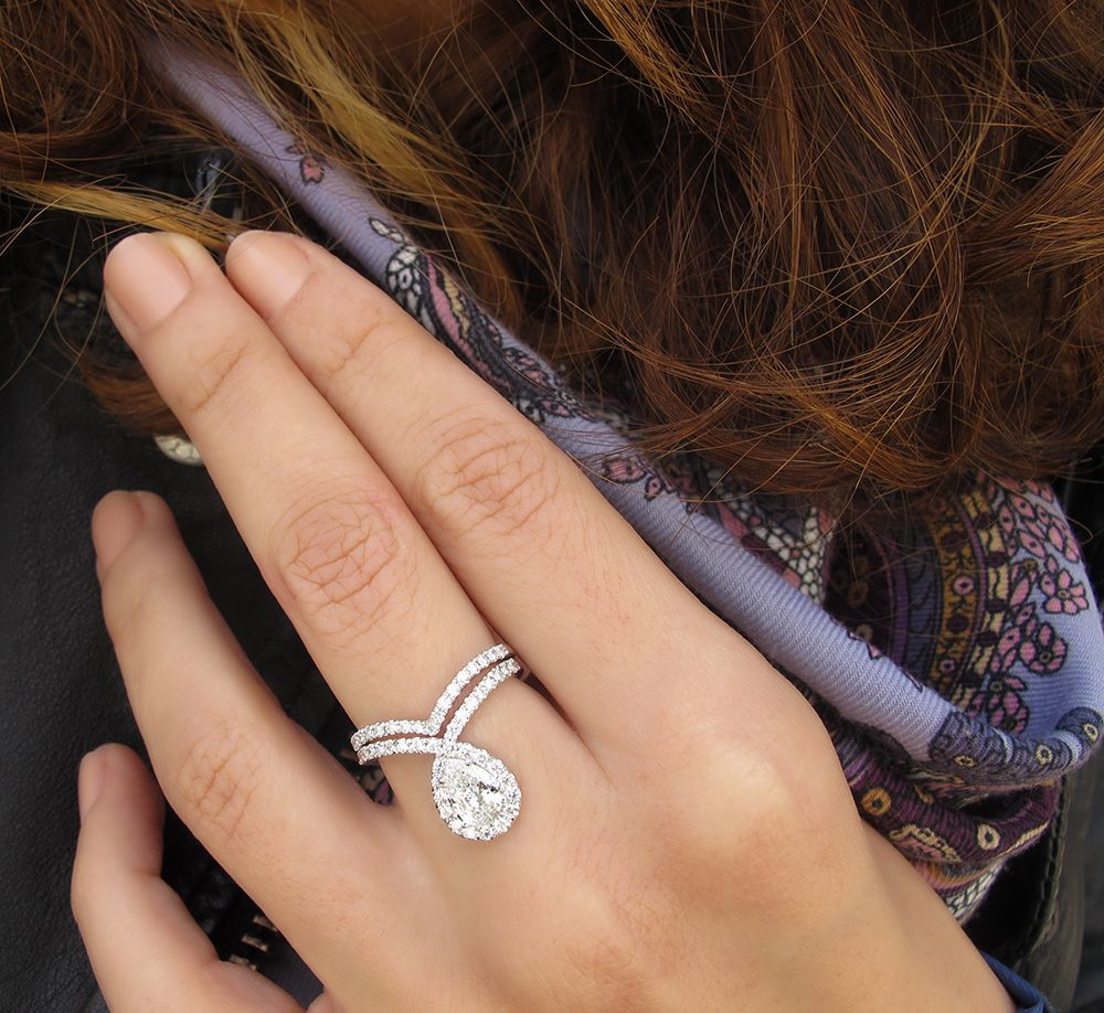 hot sale 20 off pear shaped diamond engagement bliss