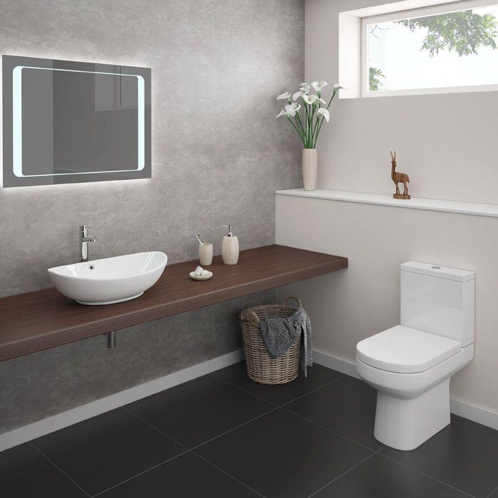 Antonio Modern Bathroom Suite Online At Victorian Plumbing Co Uk Cheap Bathroom Suites Modern Toilet Simple Bathroom Designs
