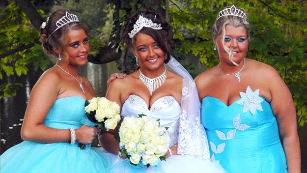 Fat Gypsy Weddings Pictures Life On The Run Channel 4