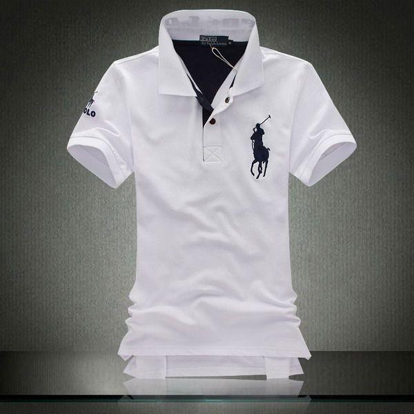5230c77451 Polo Shirt - Branded Ralph Lauren in white