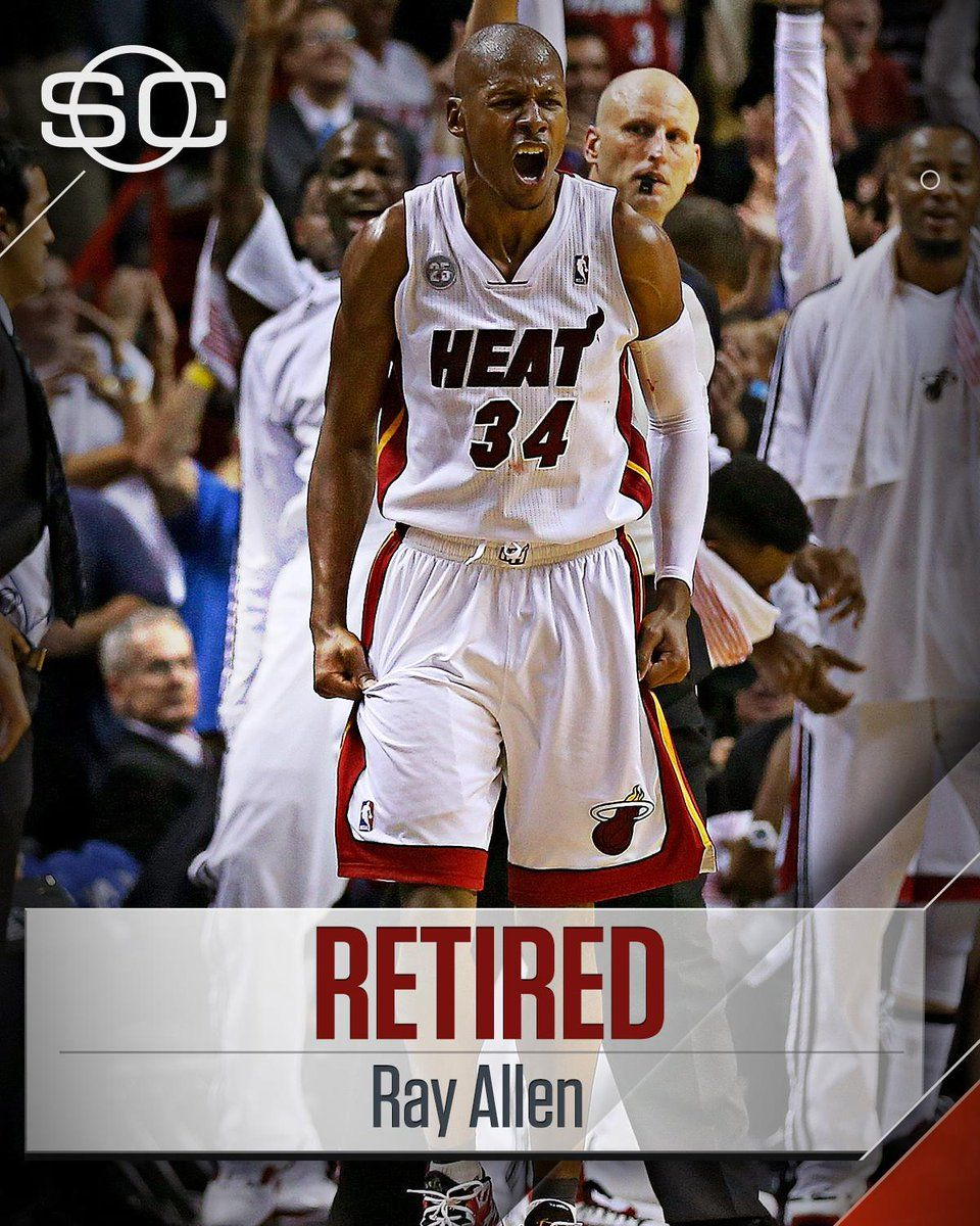 NBA Player Ray Allen Retires he will be missed class act