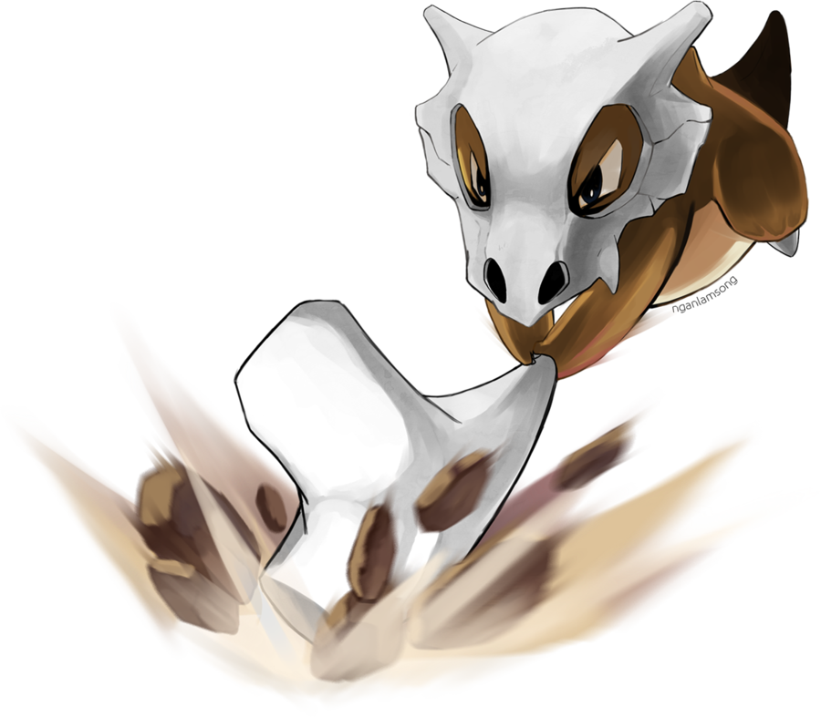 104 cubone by nganlamsong sweetie 151 pokemon pokemon first generation pokemon games - Pokemon famille pikachu ...