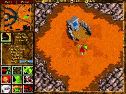 Warcraft Ii Beyond The Dark Portal Orc Ending Youtube