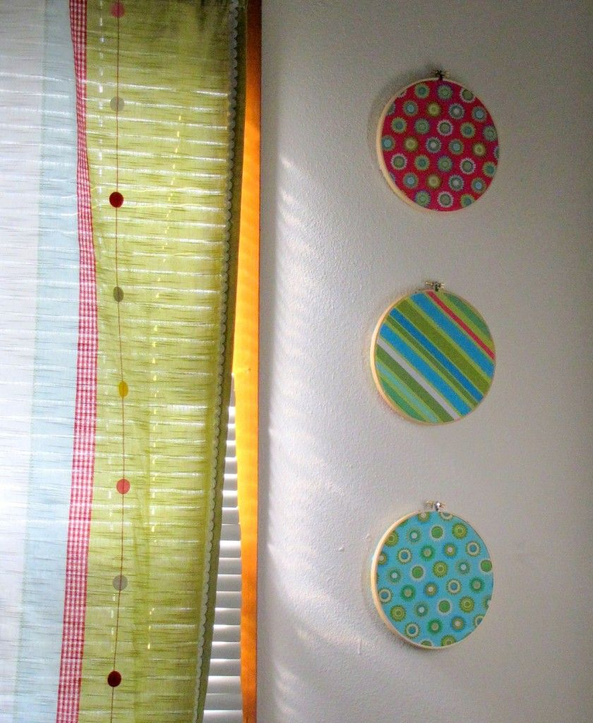 Wall art tutorial different arrangement and fabric but perfect for