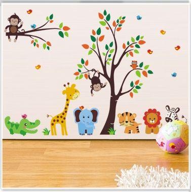 animales de la selva 1 | Baby shower | Pinterest | Animales de la ...