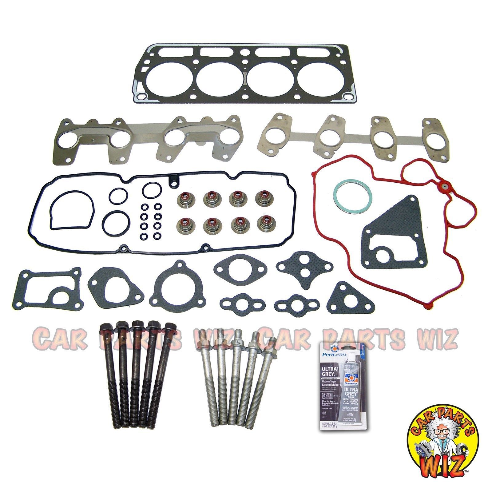 3.1L Engine Cylinder Head Bolts Kit Chevrolet Isuzu Oldsmobile Pontiac OHV V6