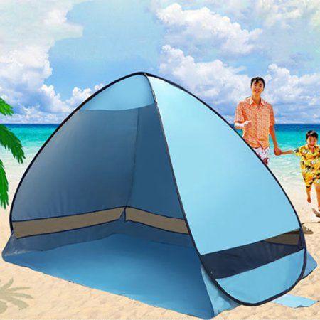 Kingmys Portable and Foldable Pop-up Anti UV Sun Shade Beach Tent Protection Nylon Cabana  XX-Large by e-Joy & Free Shipping. Buy UV Sun Protective Family Portable Tent Camping ...