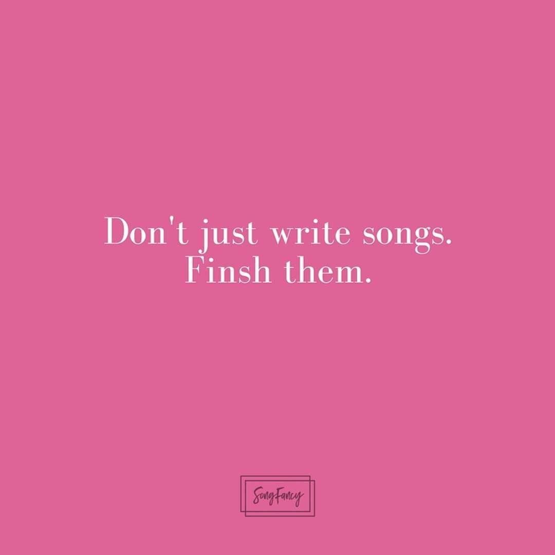 how to start a song lyrics