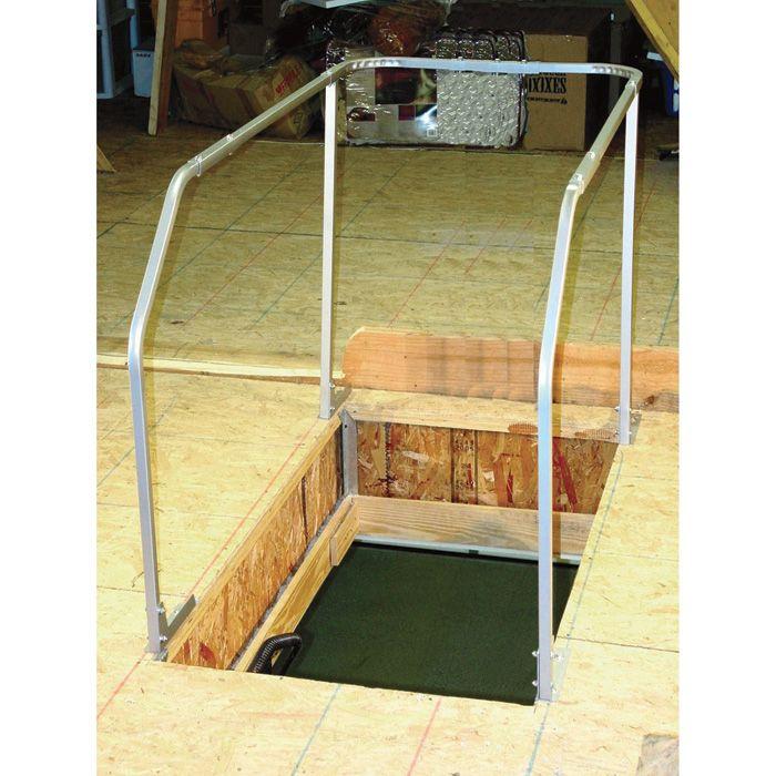 Versa Lift Attic Ladder Safety Railing, Model# VR 60 | Garage Attic Storage