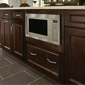 base built in microwave cabinet 27 itnd kitchen kraftiness in 2019 microwave cabinet. Black Bedroom Furniture Sets. Home Design Ideas