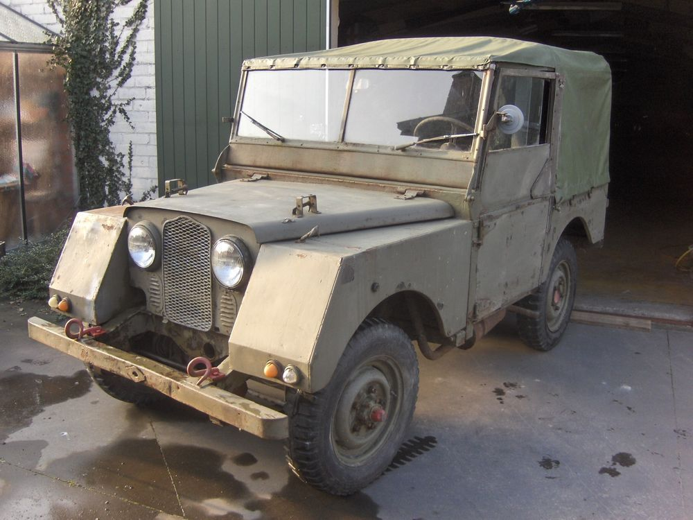 1952 Series One 80 Military Minerva Classic Land Rover Barn Find Restoration