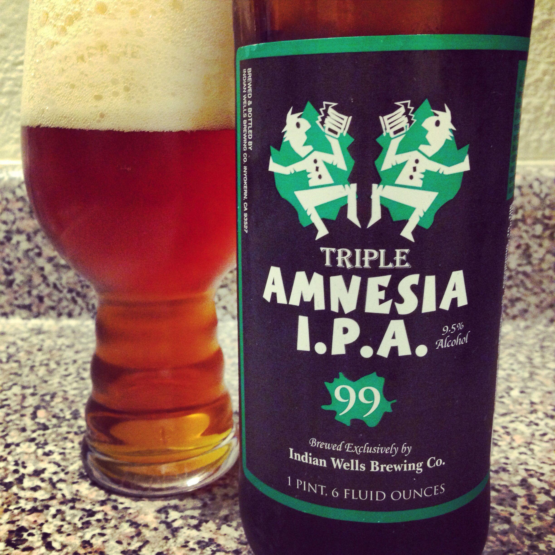 Triple Amnesia Ipa Shots Alcohol Bar Drinks Craft Beer