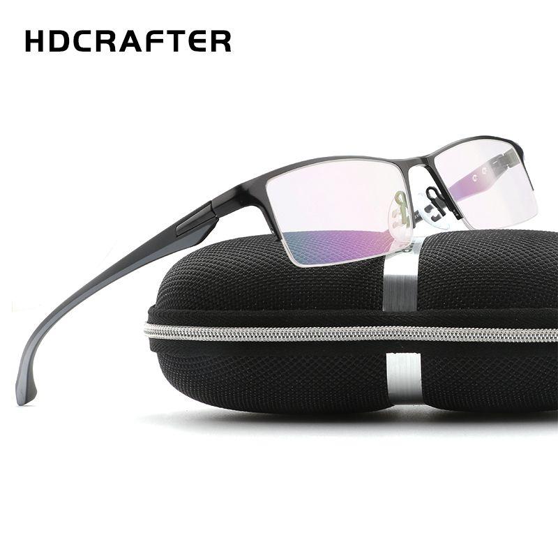 3480f31dc0d TR90 glasses frame Titanium Radiation Protection HD Eyeglasses Frame  Computer Glasses Men UV400 Goggle Eyewear