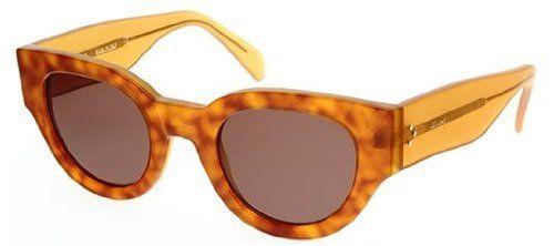 858b5be46d45 awesome Céline Sunglasses - 41064/S / Frame: Havana Yellow Lens: Brown Check
