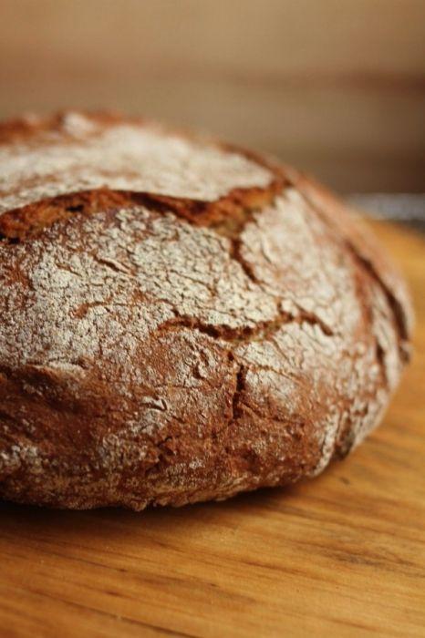 No Knead Overnight Artisan Loaf Recipe Einkorn Bread Food Einkorn Recipes