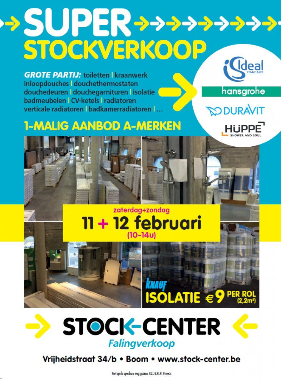 Stockverkoop StockCenter Boom 11/0212/02 Cv