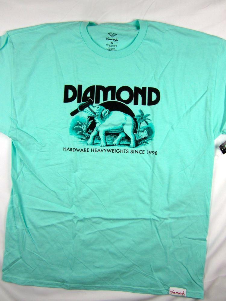 8249fc08f Diamond Supply Co Ivory Elephant Tee Blue shirt men s skate Urban size XL   DiamondSupplyCo  GraphicTee
