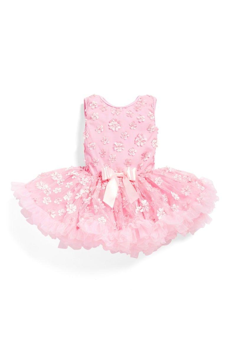 Pink dress baby  Mini Floweru Pettidress Main color Pink  Baby Girl Clothes