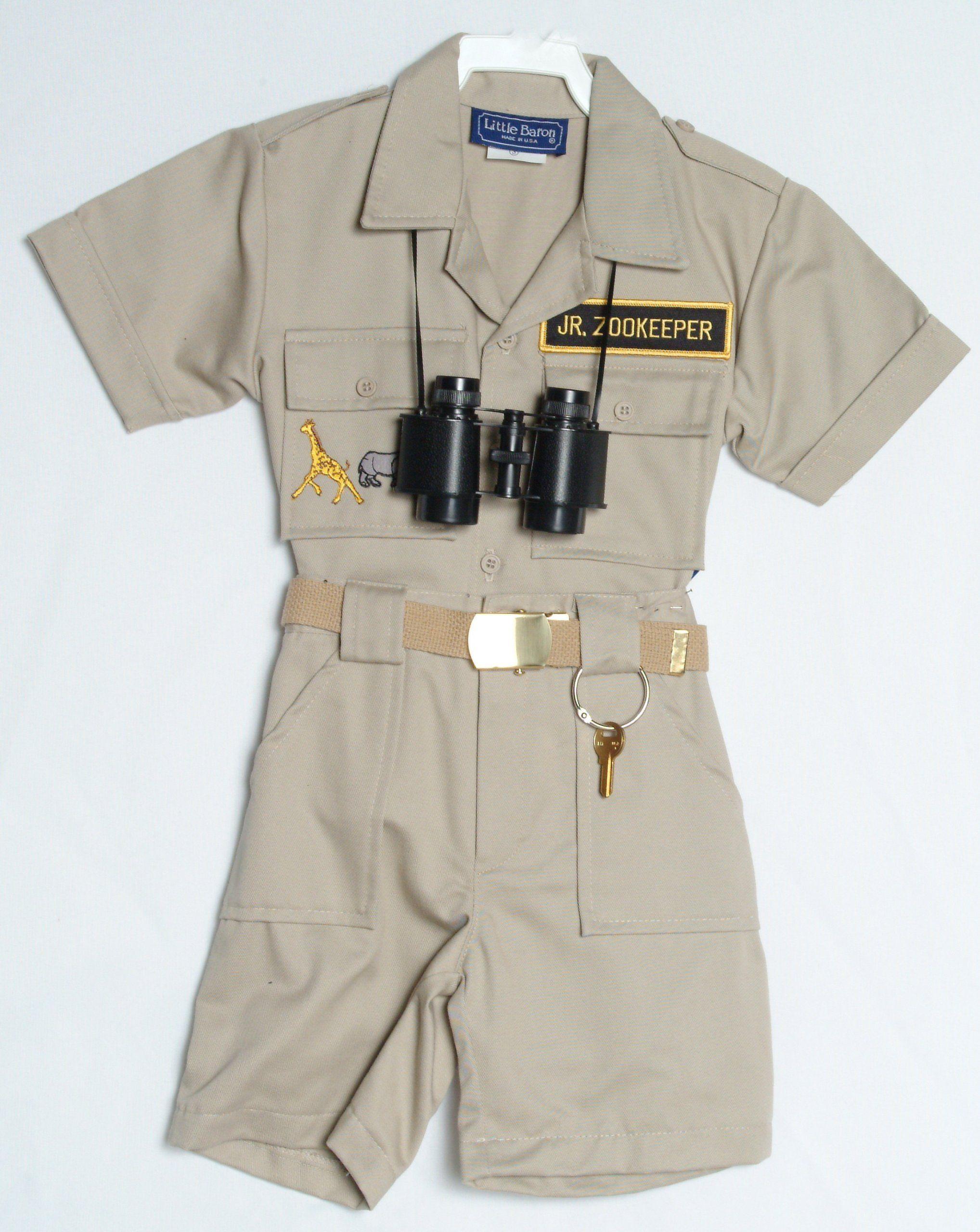 Childrenu0027s Zoo Keepers Uniform (4) & Childrenu0027s Zoo Keepers Uniform (4) | Doritos croc zoo pit ...