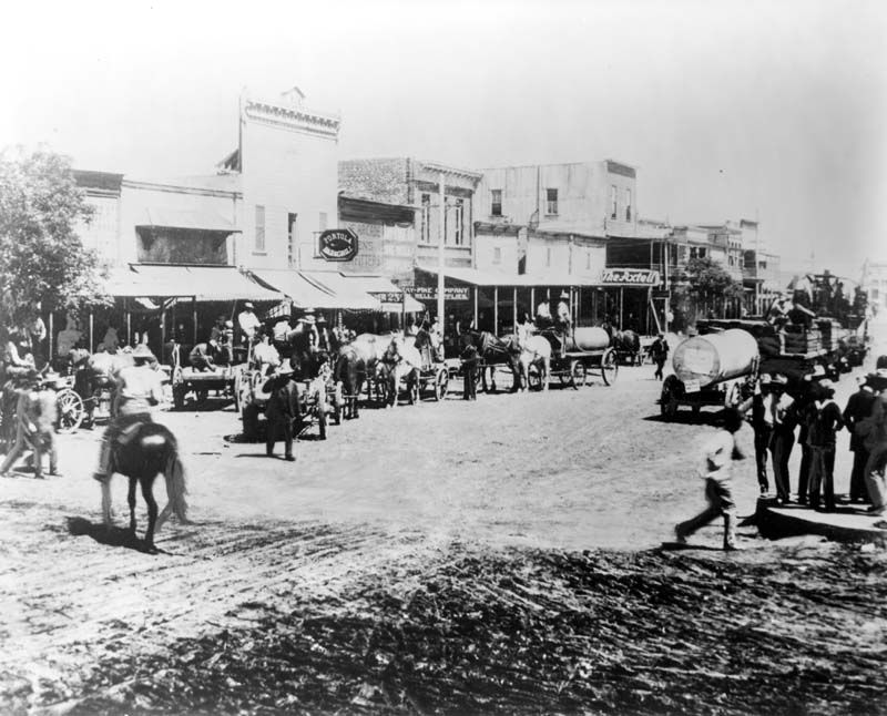 Western Towns 1800s