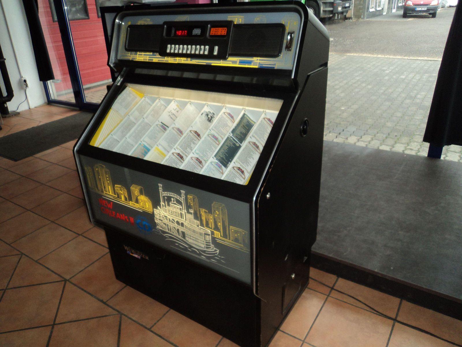 Gebraucht Sehr Selten Wurlitzer Jukebox Musikbox Modell Cdm4 I Mit Euro Munzschacht Sie Kaufen Hier Eine Einwandfrei F Musikbox Wolle Kaufen Geld Sparen