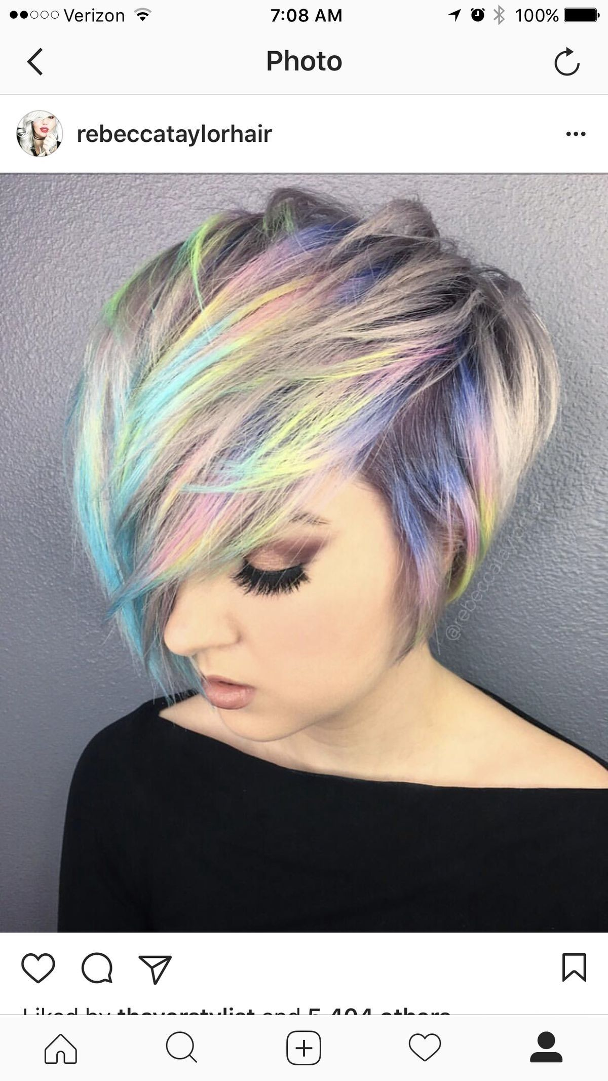 Rainbow Pixie Cut Wwwtopsimagescom